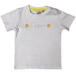 Boys Personalized Pumpkin T-Shirt