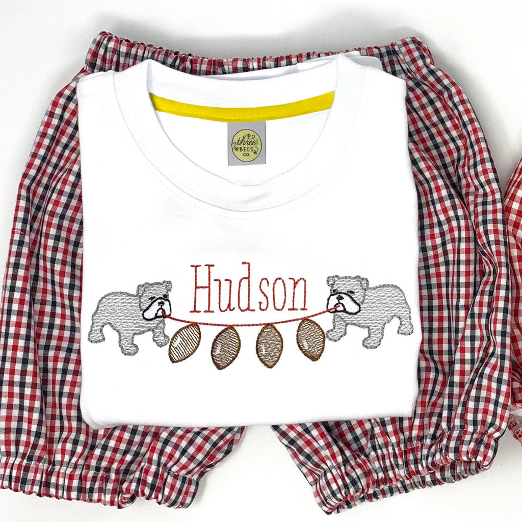 Bulldog Banner Boys T-Shirt