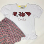 Carolina Trio Girls Top