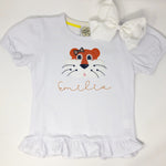 Tiger Head Girls Top