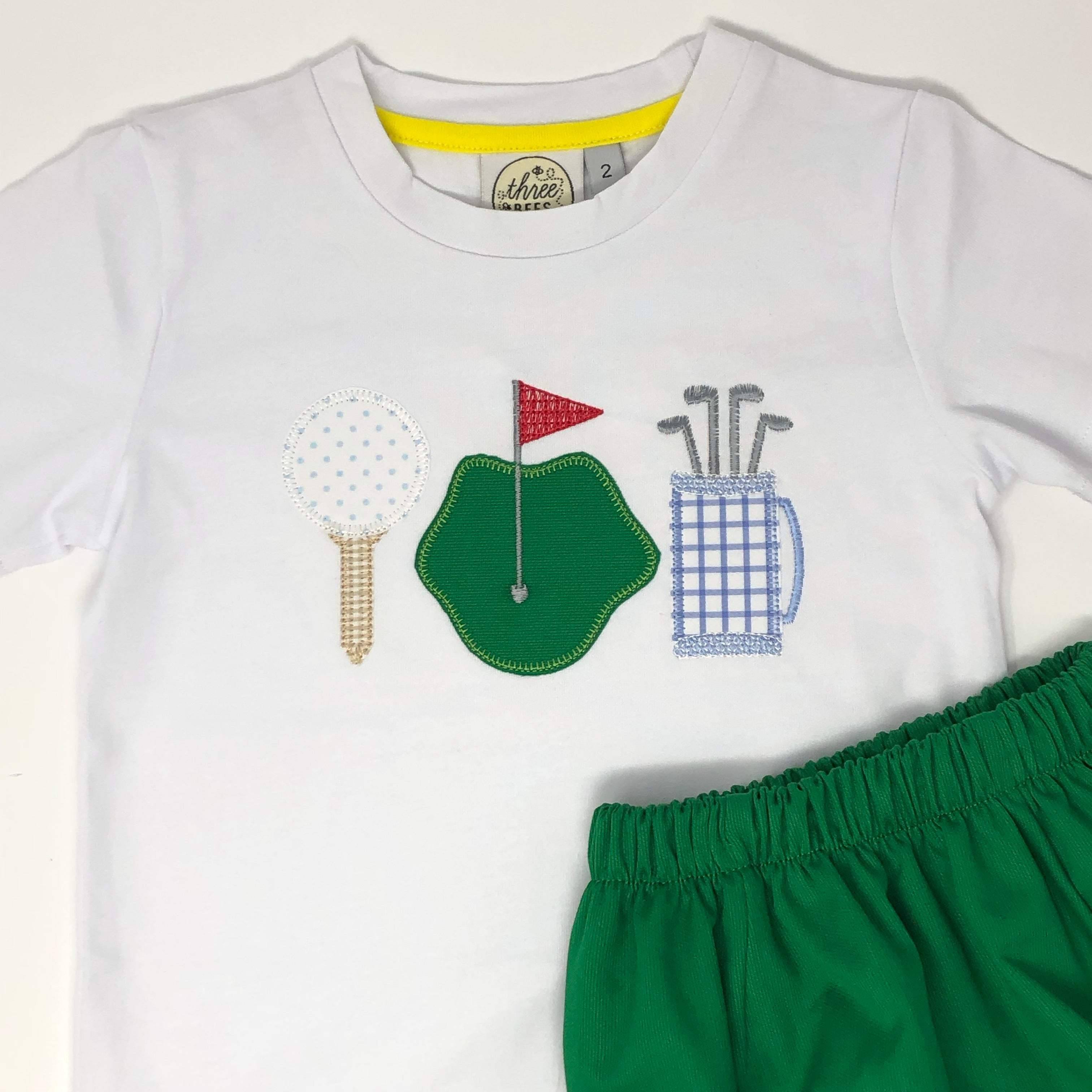 Golf Trio Applique T-Shirt