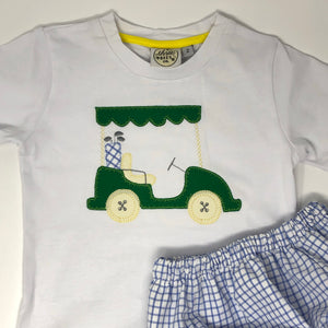Golf Cart Applique T-Shirt