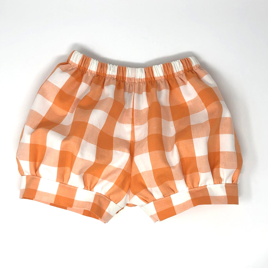 Buffalo Plaid Landon Fabric Banded Short (Unisex)