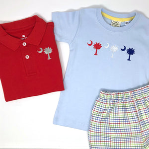 Palmetto Tree Trio Boys T-Shirt