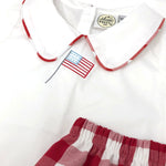 Patriotic Noah Mini Stitch Shirt