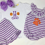 Paw Print Girls Top