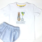 Party Peter Rabbit Boys Embroidery T-Shirt