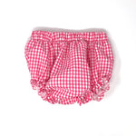 Gingham Ruffle Bloomer