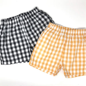 Seersucker Plaid Sam Short