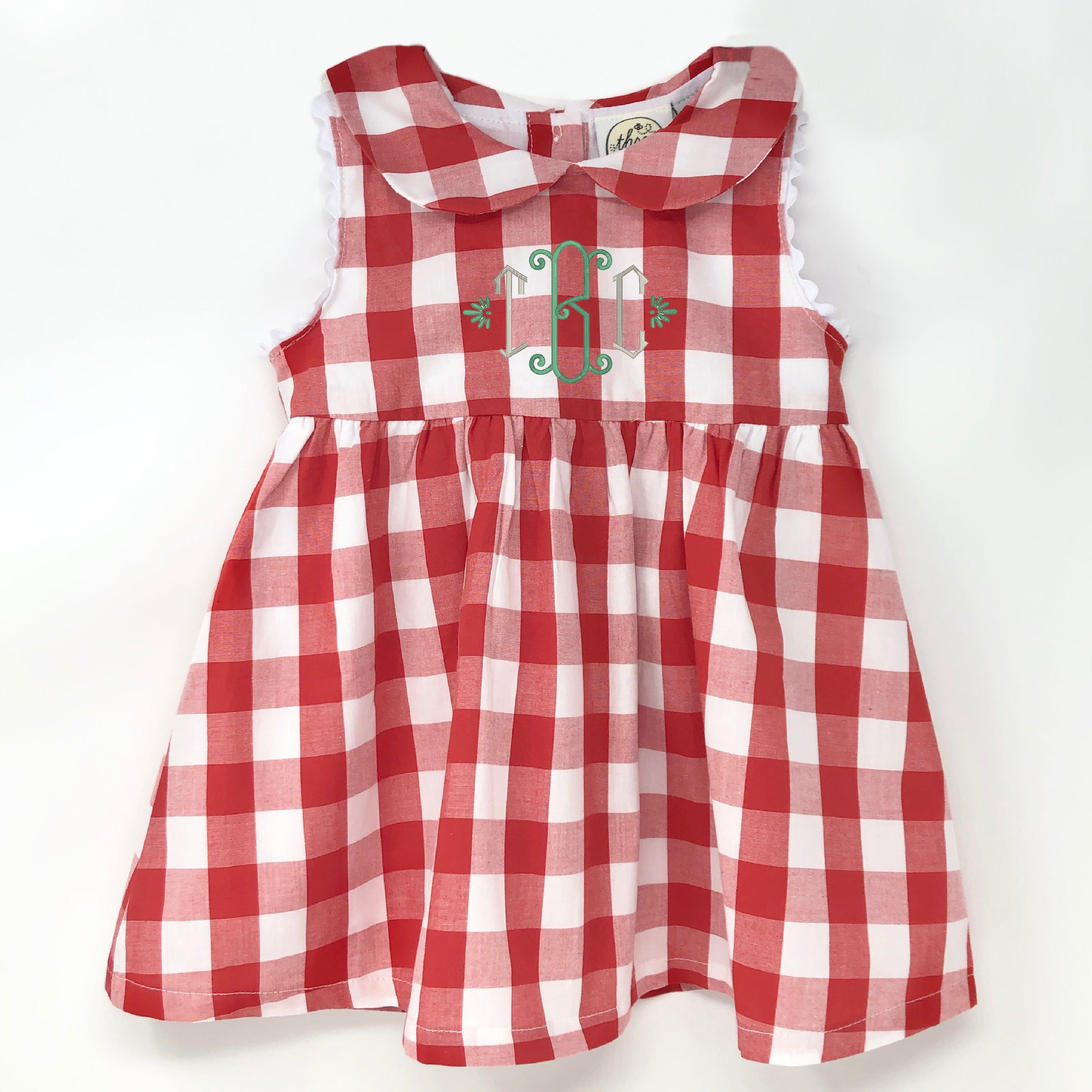 Summer Plaid Stella Dress