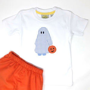 Trick or Treating Ghost Boys T-Shirt