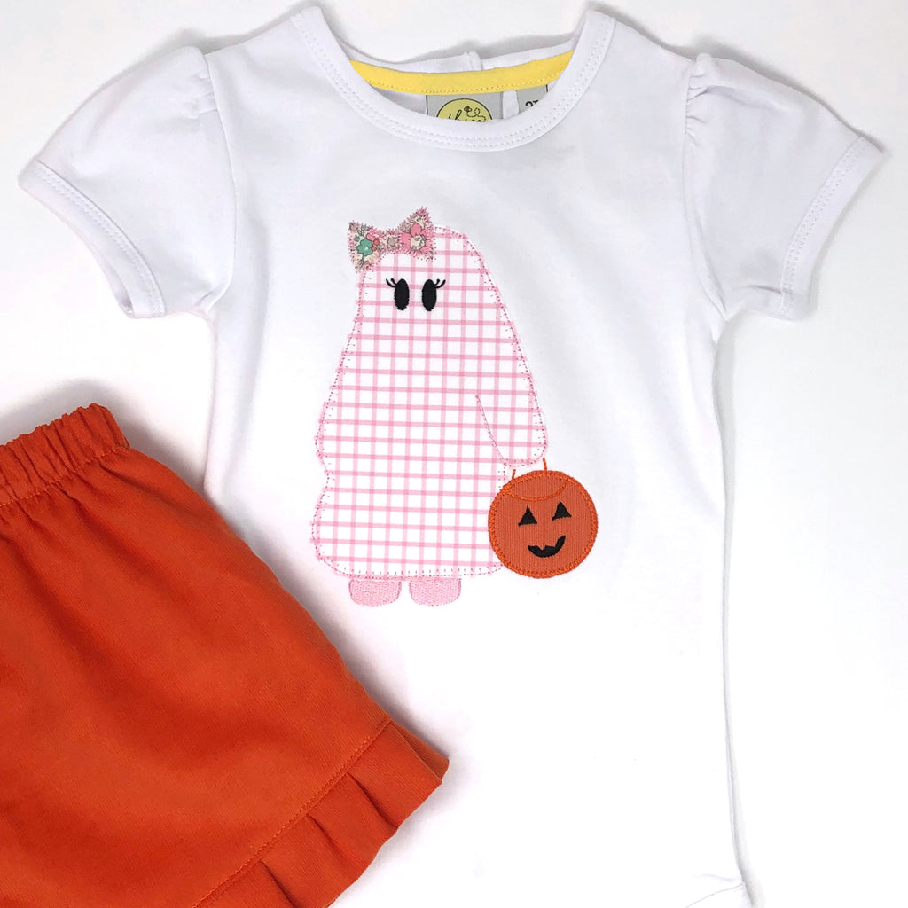Trick or Treating Ghost Girls Top
