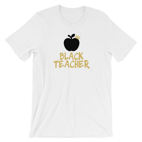 Black Teacher T-Shirt