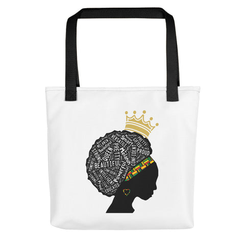 Beautiful Black Woman Tote bag