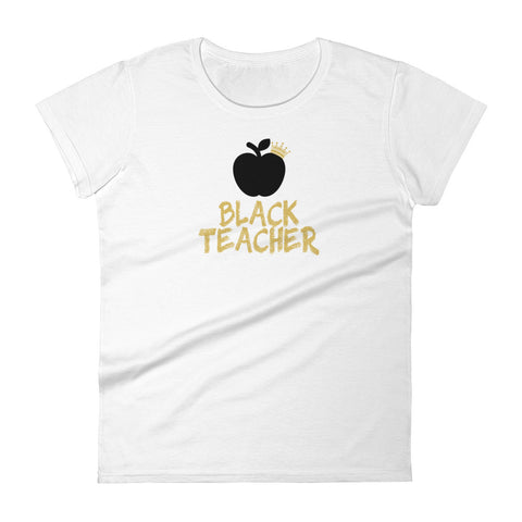 Black Teacher Women's t-shirt