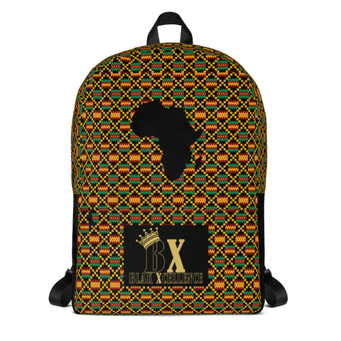 Africa Kente Backpack
