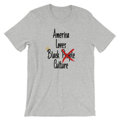 America Loves Black Culture T-Shirt