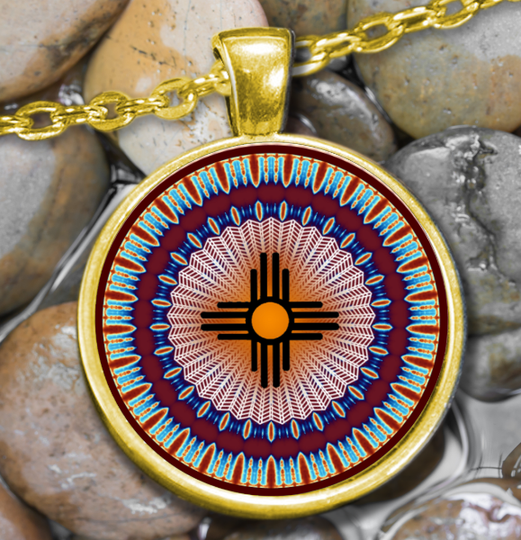 AMERICAN INDIAN SUN SYMBOL - SWANTASTIC1