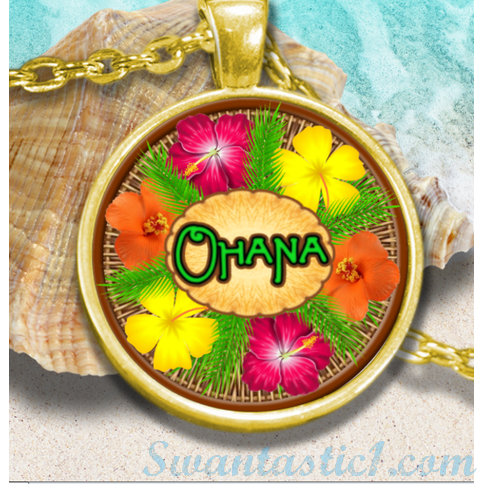 Ohana-Hawaiian For Family - SWANTASTIC1