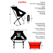 CAPRA CHAIR | BLACKOUT FRAME