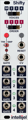 Intellijel Shifty (Voice Allocator / Note Hocketing / Analog Shift Register) - Epsilon Records