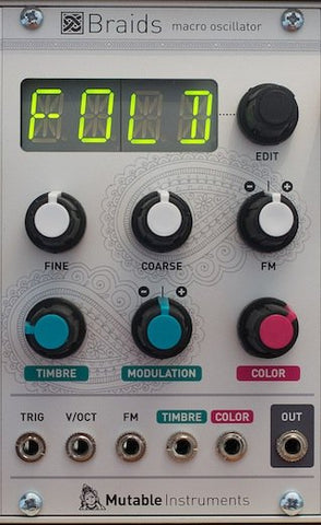 Mutable Instruments Braids VCO - Epsilon Records