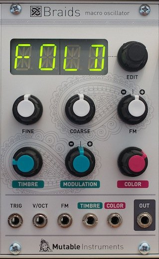 [Mutable Instruments] Braids (VCO)