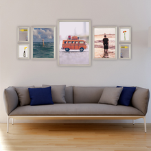 silver picture frames for gallery wall
