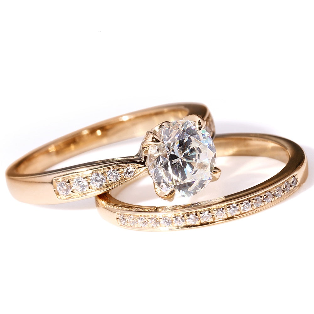 anniversary gold princess ring white diamonds rings jewellery diamond