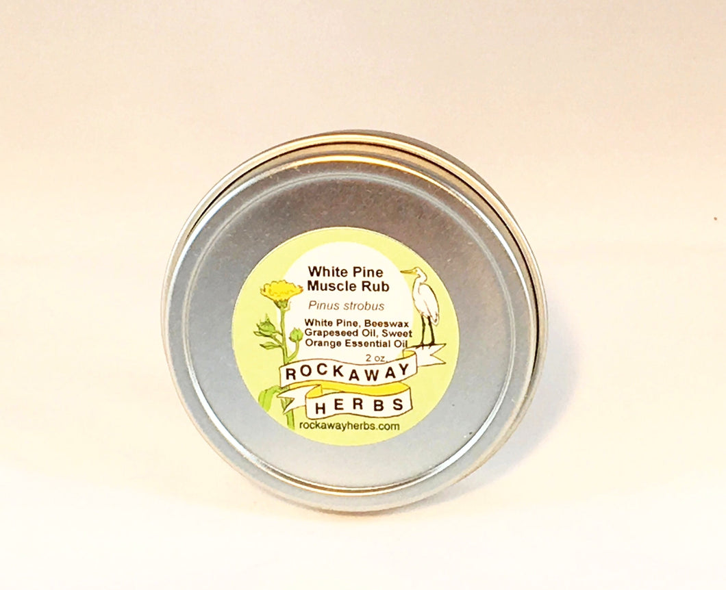 White Pine Muscle Rub