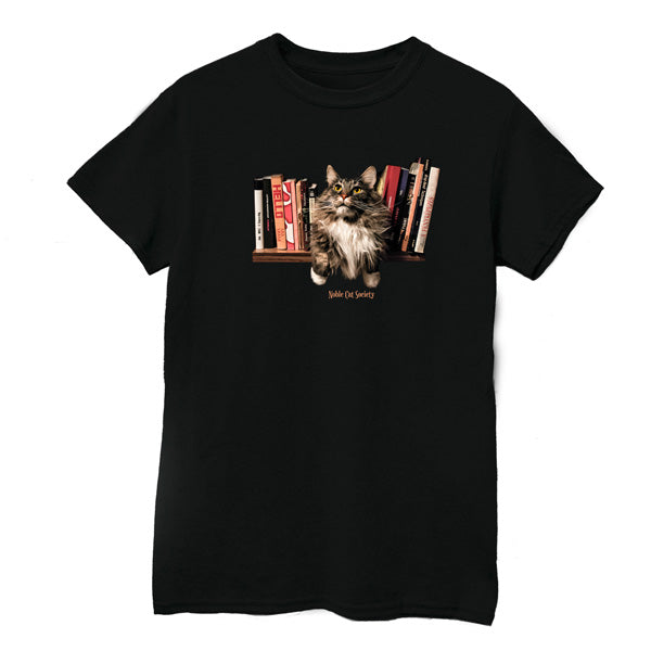 Bookworm cat T-Shirt