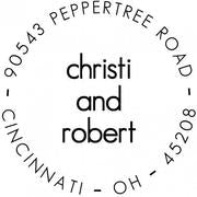 Christi Return Address Stamp