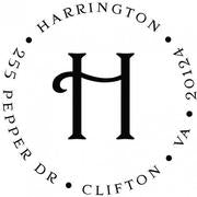 Harrington Return Address Stamp