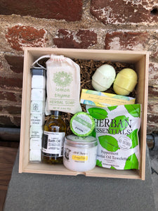 Specially made Gift Box- Toiletries