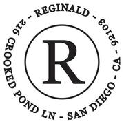 Reginald Return Address Stamp