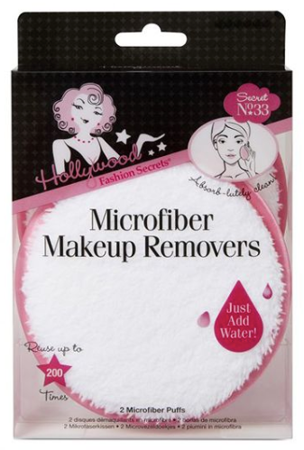 Hollywood Fashion Secrets- Microfiber Makeup Removers