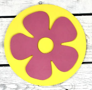 Greens Mill- Interchangeable HOME Sign Flower Attachment