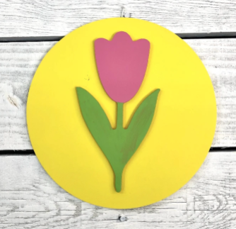 Greens Mill- Interchangeable HOME Sign Tulip Attachment