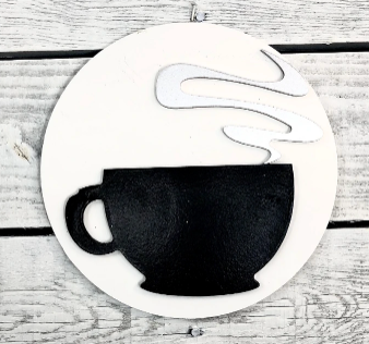 Greens Mill- Interchangeable HOME Sign Coffee Attachment