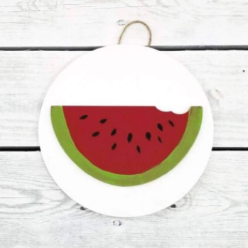 Greens Mill- Interchangeable HOME Sign Watermelon Attachment
