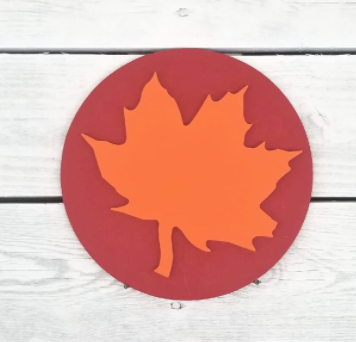 Greens Mill- Interchangeable HOME Sign Leaf Attachment