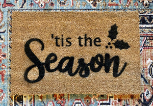 TRH Creat10ns- Door Mat, 'Tis The Season