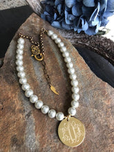 Pearl Necklace- Monogrammed