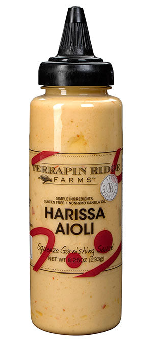Terrapin Ridge Farms- Harissa Aioli Squeeze Garnishing Sauce