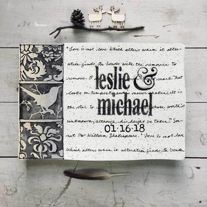 Museware Wedding Invitation Plate