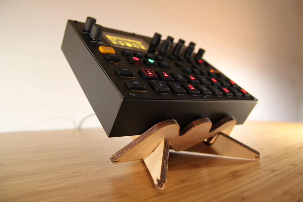 HERO stand upgraded for Digitakt & Co.