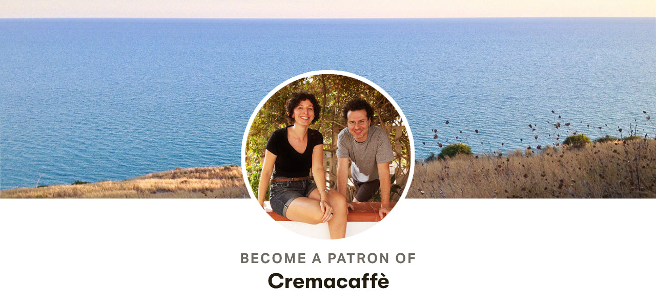 Become a Patron of Cremacaffè Design
