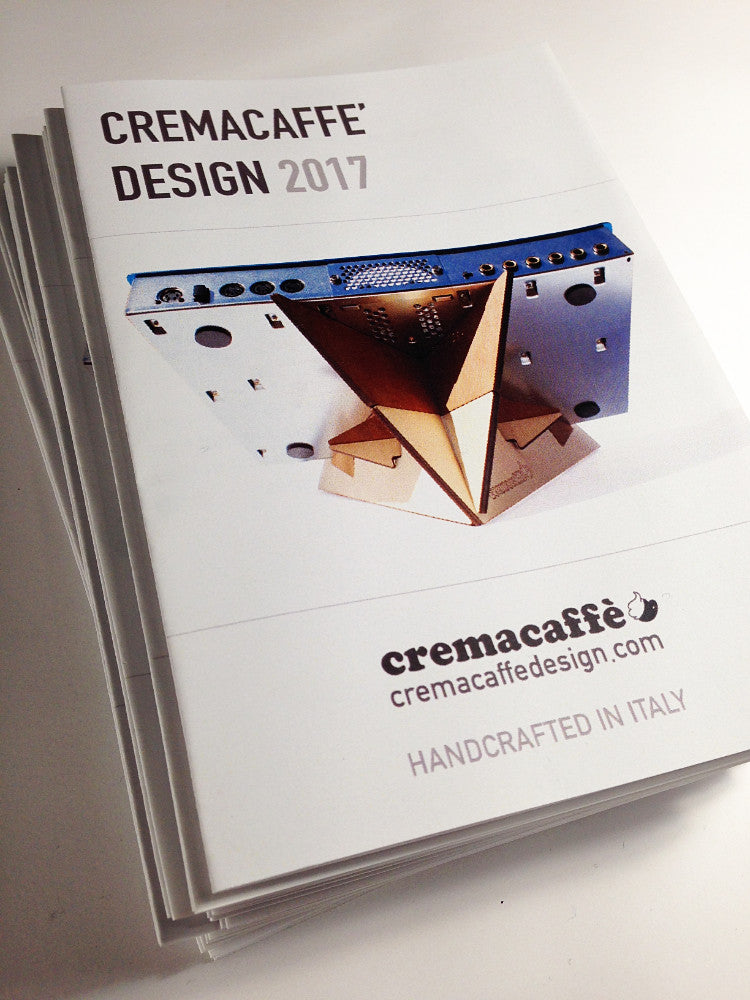 Cremacaffè Design | Compact Catalogue 2017
