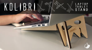 Cremacaffè KOLIBRI synth, laptop and tablet stand