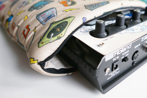 Cremacaffè Design Padded Pouch for the Roland SP-404